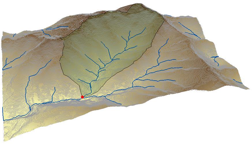 Delimitar una cuenca hidrográfica ArcGIS