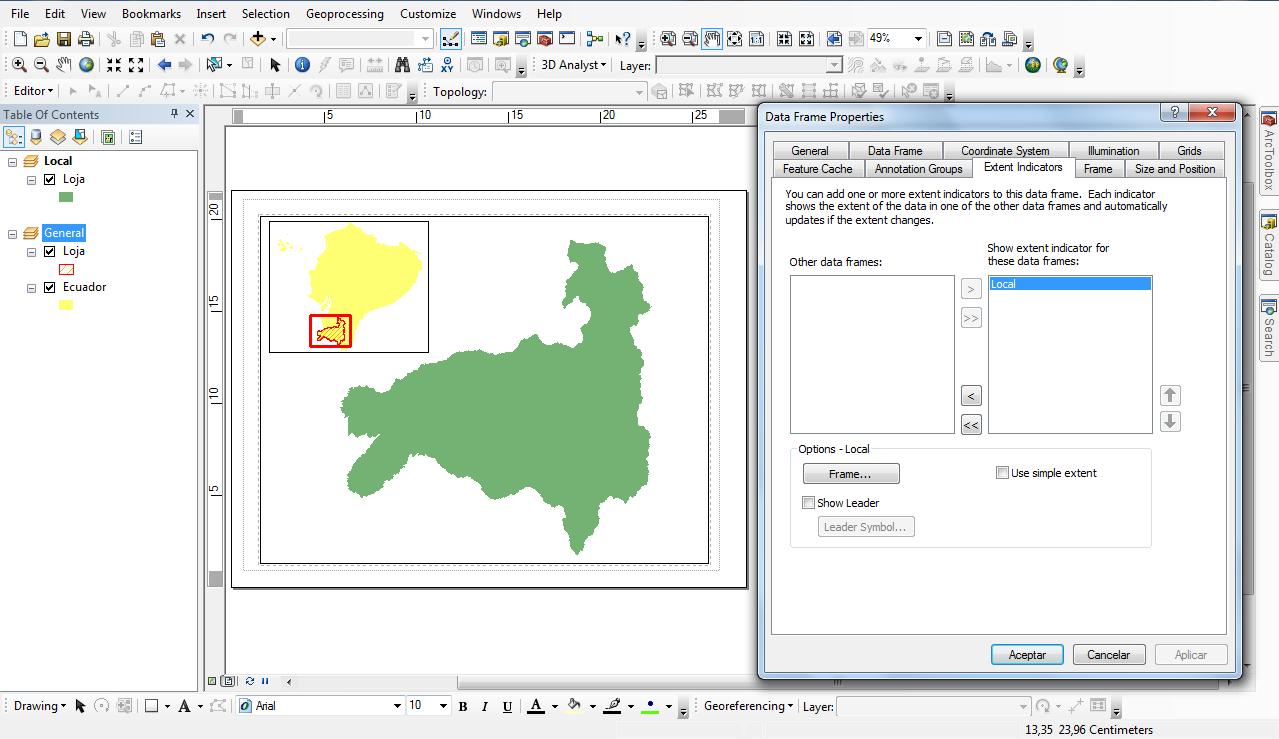 Crear Un Mapa De Localizaci N En Arcgis El Blog De Franz