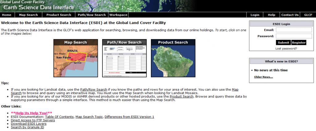 Earth Science Data Interface (ESDI)