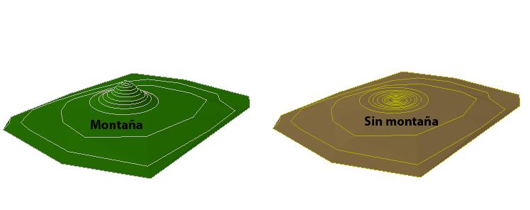 Diferencia de volumen de un elemento geomorfológico en ArcGIS
