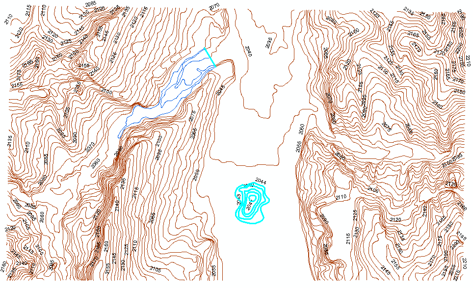 Contours in ArcGIS