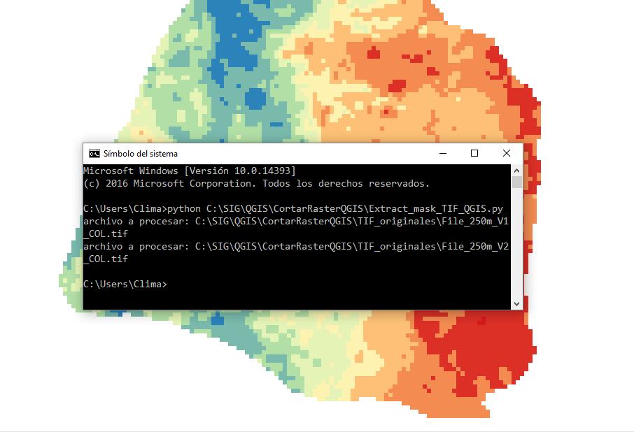 Ejecutar un script de Python para QGIS desde el CMD | El blog de franz