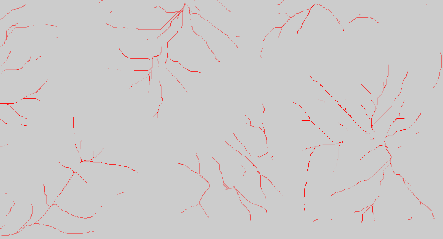 Identify ridgelines from a mountain in ArcGIS