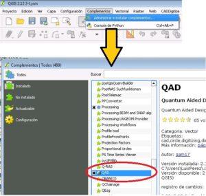 Dibujando en QGIS con mayor precisión que AutoCAD